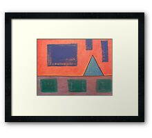 ABSTRACT 451 Framed Print
