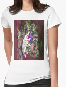 FUN AT THE FAIRGROUND Womens Fitted T-Shirt