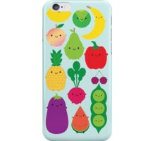5 A Day Fruit & Vegetables iPhone Case/Skin