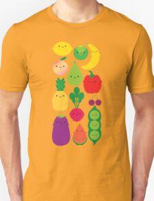 5 A Day Fruit & Vegetables Unisex T-Shirt