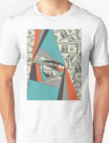 Colorful Currency Collage T-Shirt