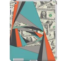 Colorful Currency Collage iPad Case/Skin
