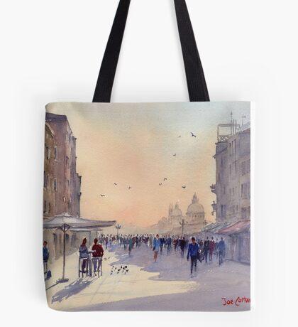 Venice from Via Garibaldi Tote Bag