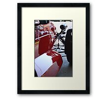 Elfin Red Framed Print