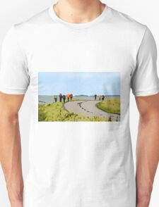 Hiking the Brecon Beacons Unisex T-Shirt