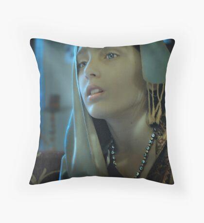 Istanbul Girl Throw Pillow