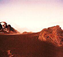 Mt Ruapehu by Carsten  Ottesen