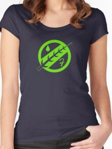 Minimal Fett Logo Women's Fitted Scoop T-Shirt