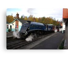 Steam at Grosmont  - North Yorks. Canvas Print