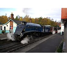 Steam at Grosmont  - North Yorks. Photographic Print