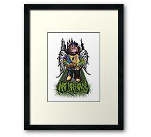"""""""Biggie Tribute"""" Framed Print"""