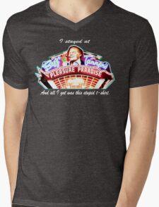 Biff Tannen's Pleasure Paradise t-shirt Mens V-Neck T-Shirt