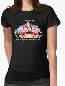Biff Tannen's Pleasure Paradise t-shirt Womens Fitted T-Shirt