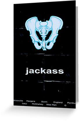 Minimalist Jackass Movie Poster by buzatron