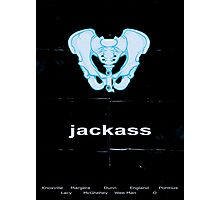 Minimalist Jackass Movie Poster Photographic Print