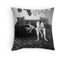 couch slouch Throw Pillow