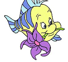 Flounder with a Flower by BelovedxCisque