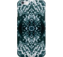 Beautiful Silver sparkles Frozen Ice bubbles Mandala iPhone Case/Skin