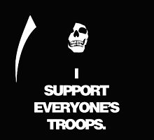 Death support everyone's troops by funnyshirts