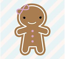 Cookie Cute Gingerbread Girl by Marceline Smith