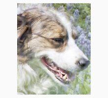 Dog in Bluebells Unisex T-Shirt