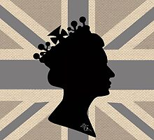 GOD SAVE THE QUEEN! (GREY) by KingsCourt