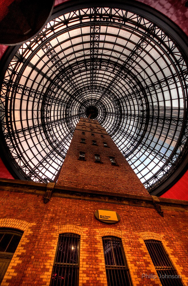 Coops Shot Tower - Angle #1, Melbourne - The HDR Experience by Philip Johnson