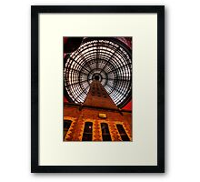 Coops Shot Tower - Angle #1, Melbourne - The HDR Experience Framed Print