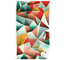 Modern Abstract Geometric Pattern Poster