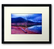 Dusk at Lake Eildon #1 Framed Print