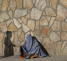 Two ghosts in Kabul, Afghanistan by Amador Guallar Perez