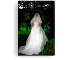 Haunted Bride Canvas Print