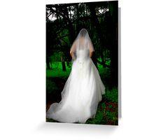 Haunted Bride Greeting Card