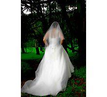 Haunted Bride Photographic Print