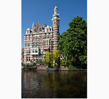 Amsterdam Canal Mansions - the Dainty Tower Unisex T-Shirt