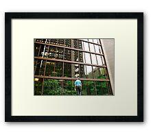 Ford Foundation Garden Framed Print