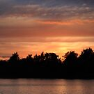 Sunset at Tiddenfoot 04 July 2015 #1 by Dale Rockell