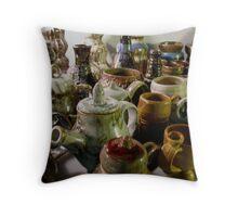 Ceramics Throw Pillow
