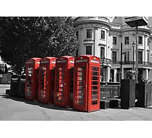 London Red Photographic Print