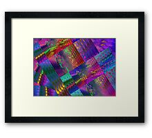 Colors & Flowers & Abstract. Framed Print