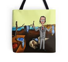 Salvador Dalí and The Persistence of Memory. Tote Bag