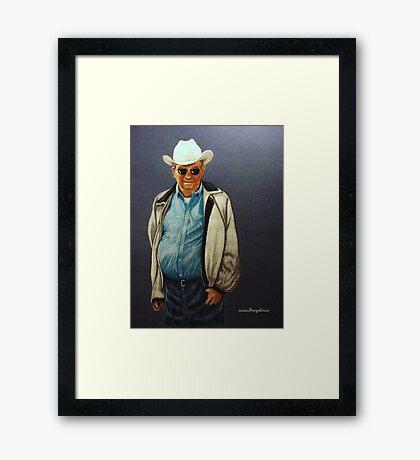 Frank~ Commissioned Work Framed Print