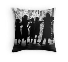 Young Balinese dancers Throw Pillow