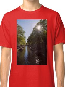 Amsterdam Spring - Green, Sunny and Beautiful Classic T-Shirt
