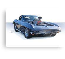 1964 Corvette 'Pro Street' Stingray Metal Print