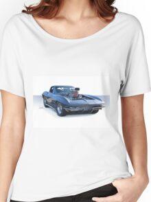 1964 Corvette 'Pro Street' Stingray Women's Relaxed Fit T-Shirt