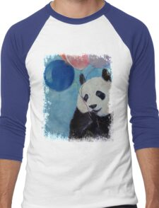 Panda Party Men's Baseball ¾ T-Shirt