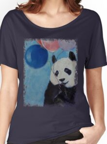 Panda Party Women's Relaxed Fit T-Shirt