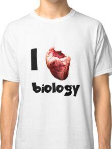 I <3 biology Classic T-Shirt