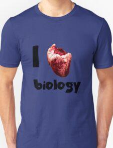 I <3 biology Unisex T-Shirt